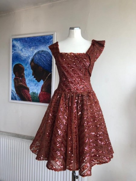 Bespoke Sequence Occasional Dress