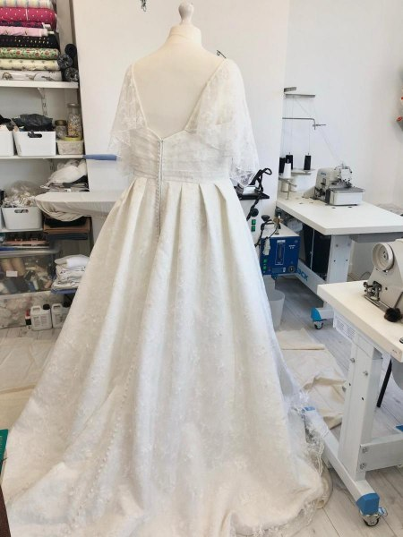 Ball gown Wedding dress alterations