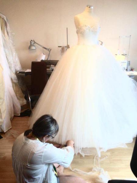 Bespoke Wedding dress services