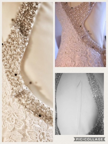 Wedding dress embellishment
