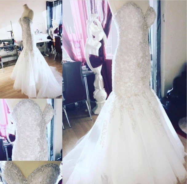 Wedding dresses hem alterations