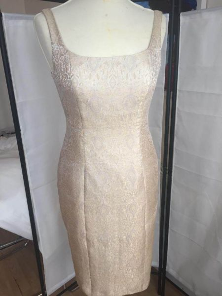 Bespoke 3-Piece Beaded Wedding Dress
